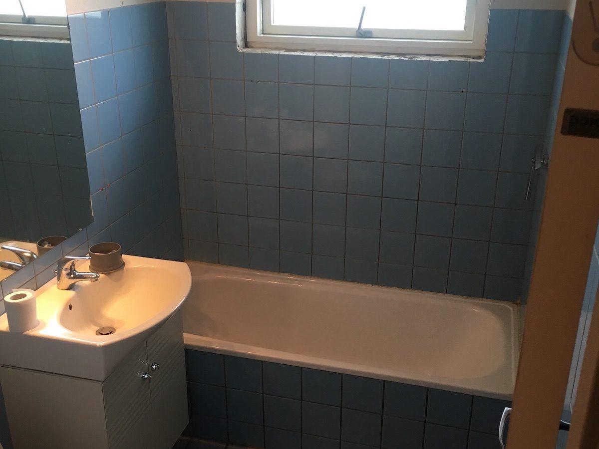 Renovering af ældre badeværelse